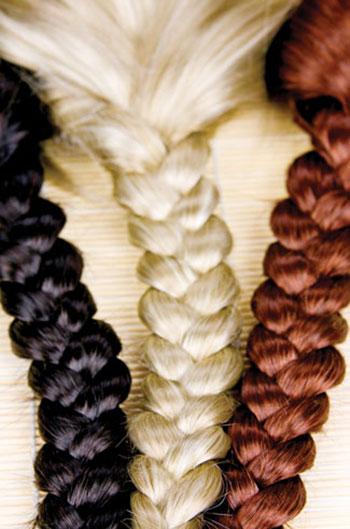 رنگ موی طبیعی در آشپزخانه ها