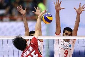 شکست دور از انتظار تیم ملی والیبال ایران از ژاپن