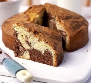 طرز تهیه کیک مرمر ترکیه
