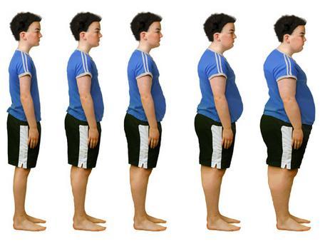 نحوه چاق شدن لاغرها