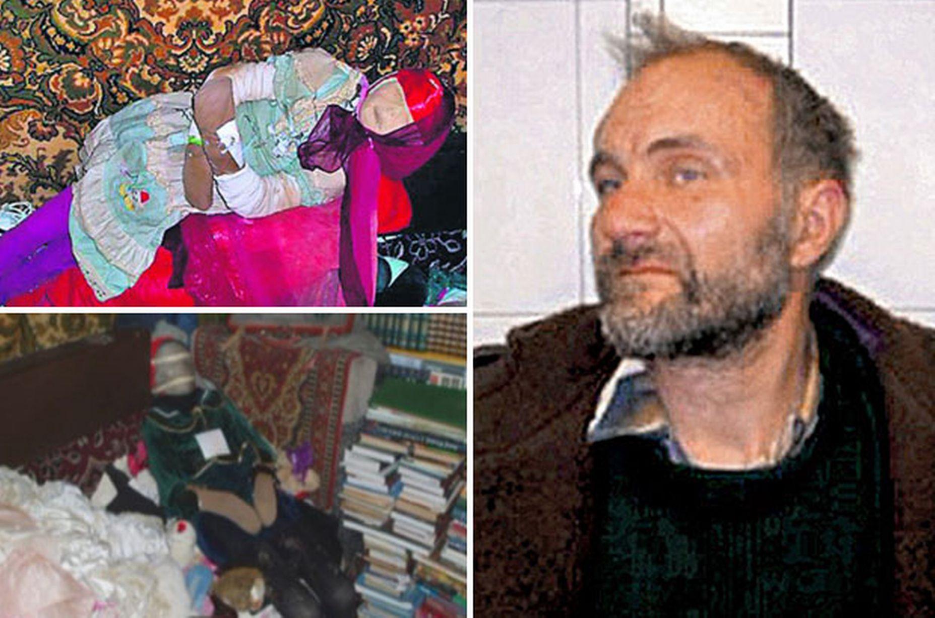 مردی که با ۱۵۰ دختر مرده زندگی می کرد +عکس