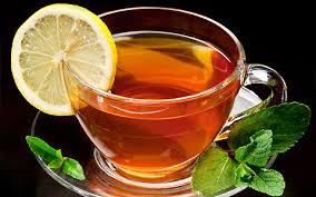 چای با لیموی تازه