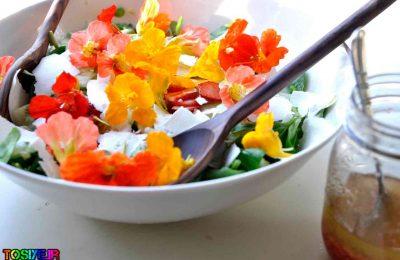 9 گل خوراکی و زیبا برای باغچه
