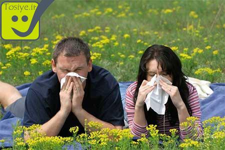 راه های درمان حساسیت های بهاری