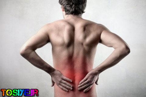 بهترین روش جلوگیری از کمر درد