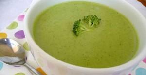 طرز تهیه سوپ بروکلی بدون آرد