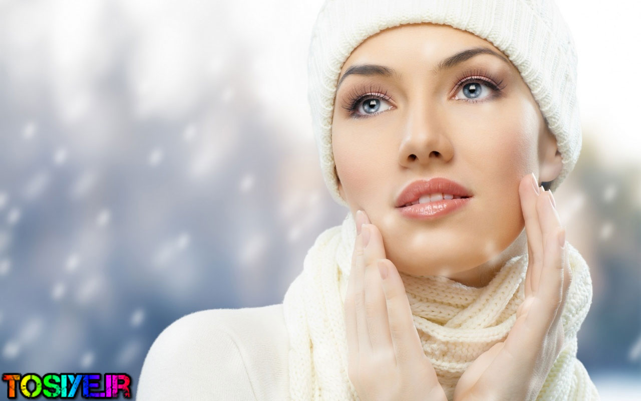 زیبایی در سرما !