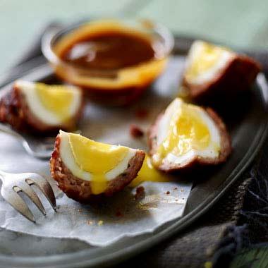 آموزش تهیه تخم مرغ اسکاچ