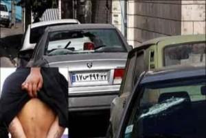 عربدهکشی اراذل و تخریب ماشین مردم در شرق تهران