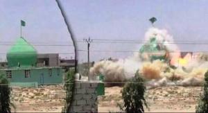 داعش مقام «امام علی» و «امام رضا» را منفجر کردند