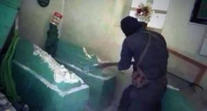 گنجی که داعش از مرقد حضرت یونس (ع) به سرقت برد