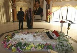 انتقال جسد صدام از تکریت به مکانی نامعلوم