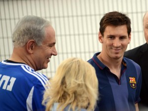 مسی ۱ میلیون یورو به اسرائیل داد