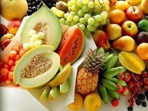 خواص میوه ها با توجه به رنگ شان