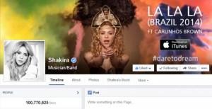 اولین صفحه با ۱۰۰ میلیون لایک در فیس بوک