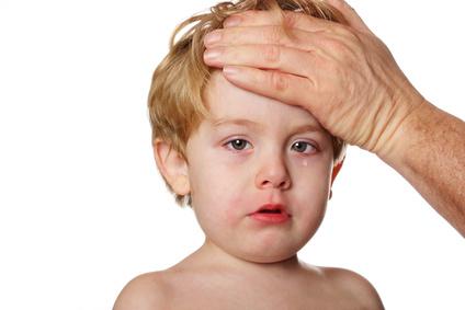 راه درمان تب کودک