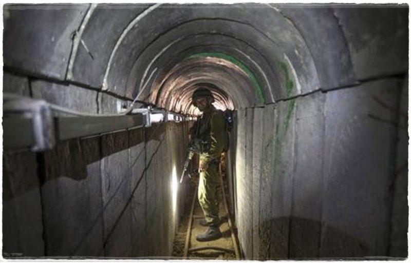 تونل مقاومت در دستان اسرائیلی ها + عکس
