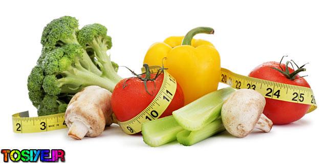 خوراکی هایی برای کاهش وزن اصولی